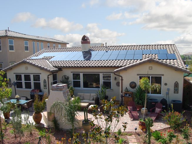 11kW SunPower system using the signature X-series 335w panels with custom recessed installation. Riverside, CA